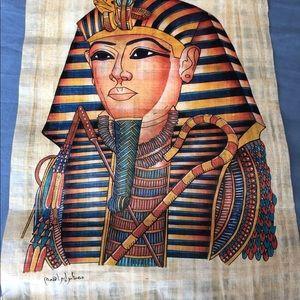 Papyrus paper Tutankhamun